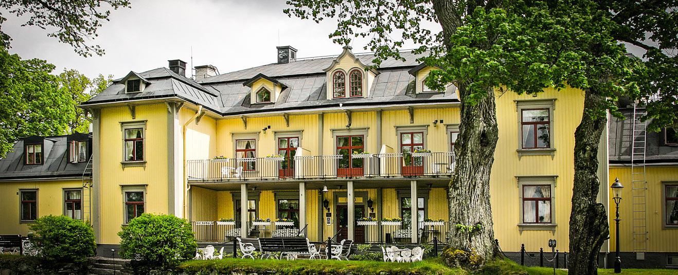 herrgårdsweekend stockholm erbjudande